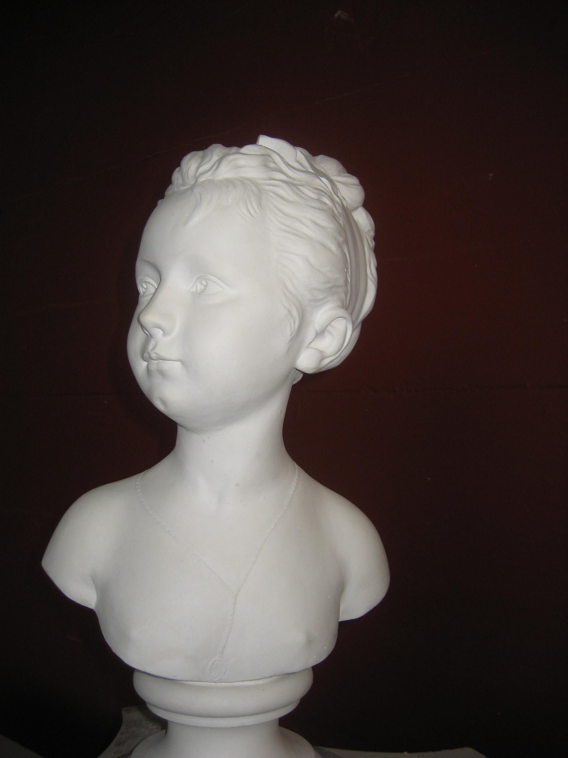 IMG_1599.JPG, Mädchenbüste, seitl. leicht nach links